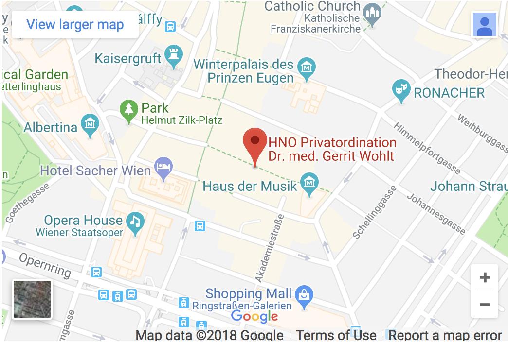 Dr. med. Gerrit Wohlt - Annagasse 8, 1010 Vienna, Austria